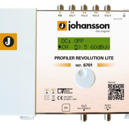 Wzmacniacz Johansson PROFILER Revolution 6701 Lite