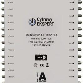 MultiSwitch Technisat Cyfrowy Ekspert CE 9/32 HD