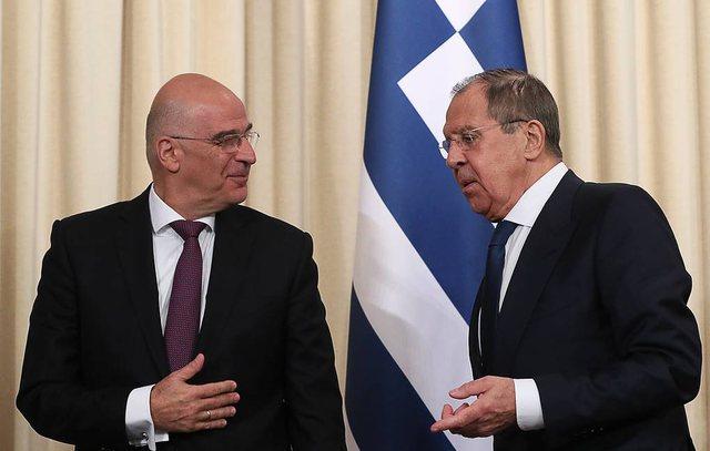 Rusia i del në krah Greqisë/ Lavrov takon Dendias: Keni të drejtë të  zgjeroheni në det | Zgjohu Shqiptar