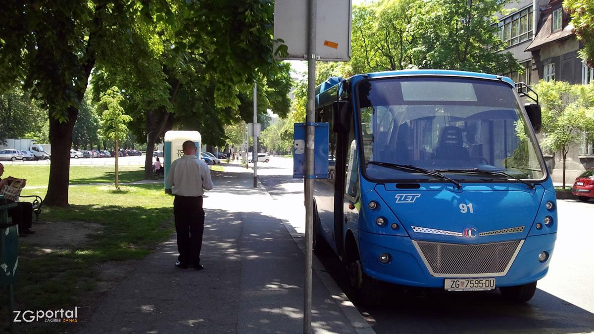 reljkovićeva ulica, zagreb / iveco cacciamali, linija 139 / kolovoz 2012.