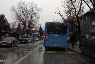 borongajska cesta, volovčica, zagreb / ZET-ov autobus linije 215