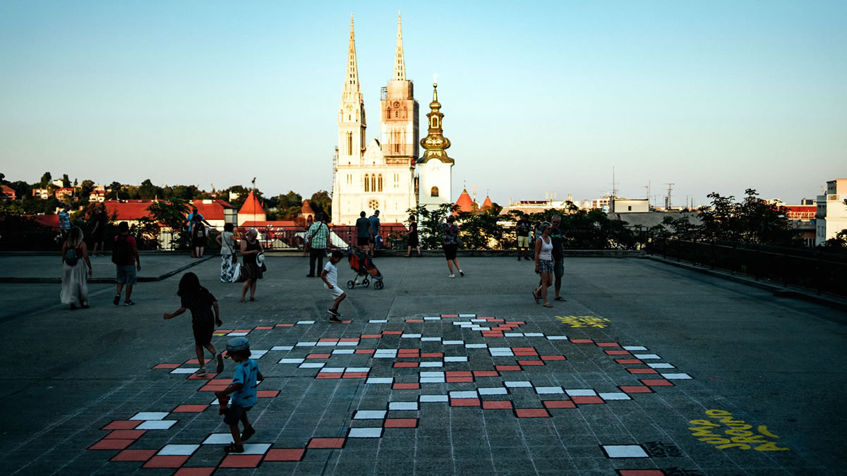 okolo 2019 / plato gradec i zagrebačka katedrala