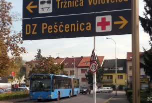 zet bus 215 / trg volovčica, zagreb / listopad 2016.