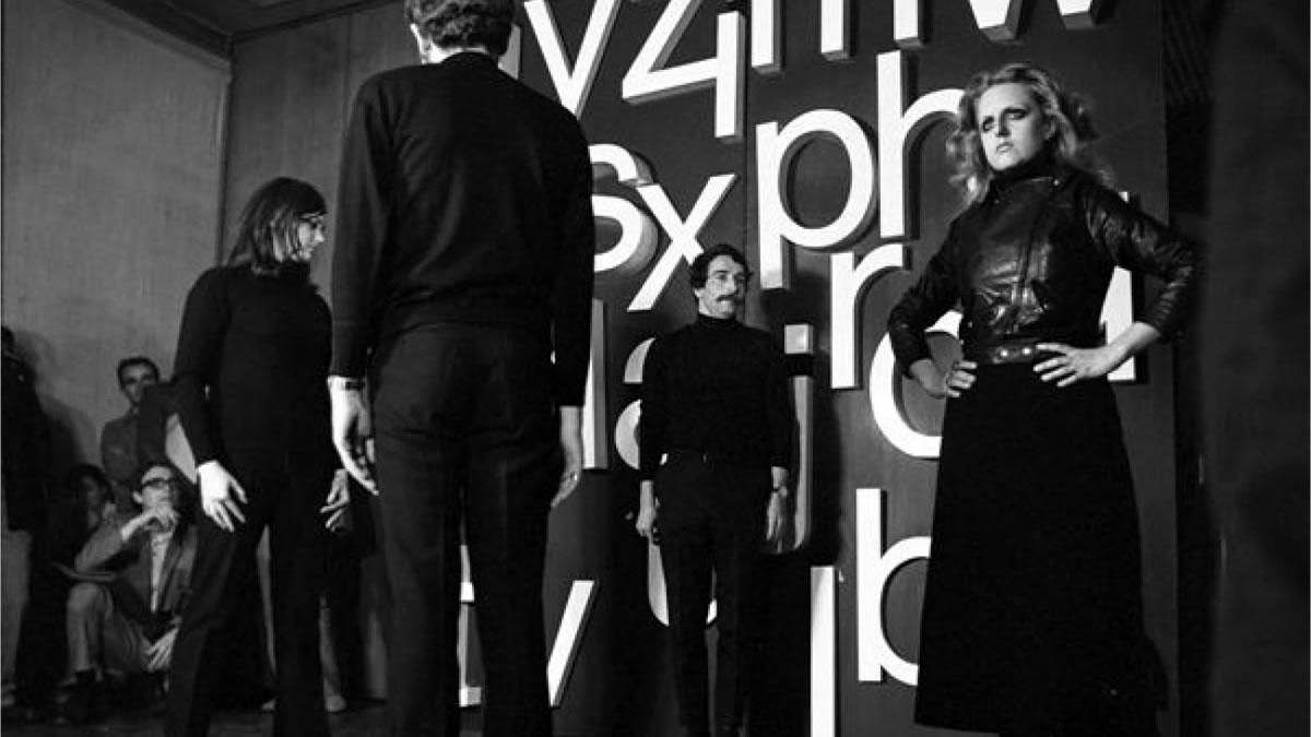 Paolo Scheggi / Oplà stick / 1969 - 2019