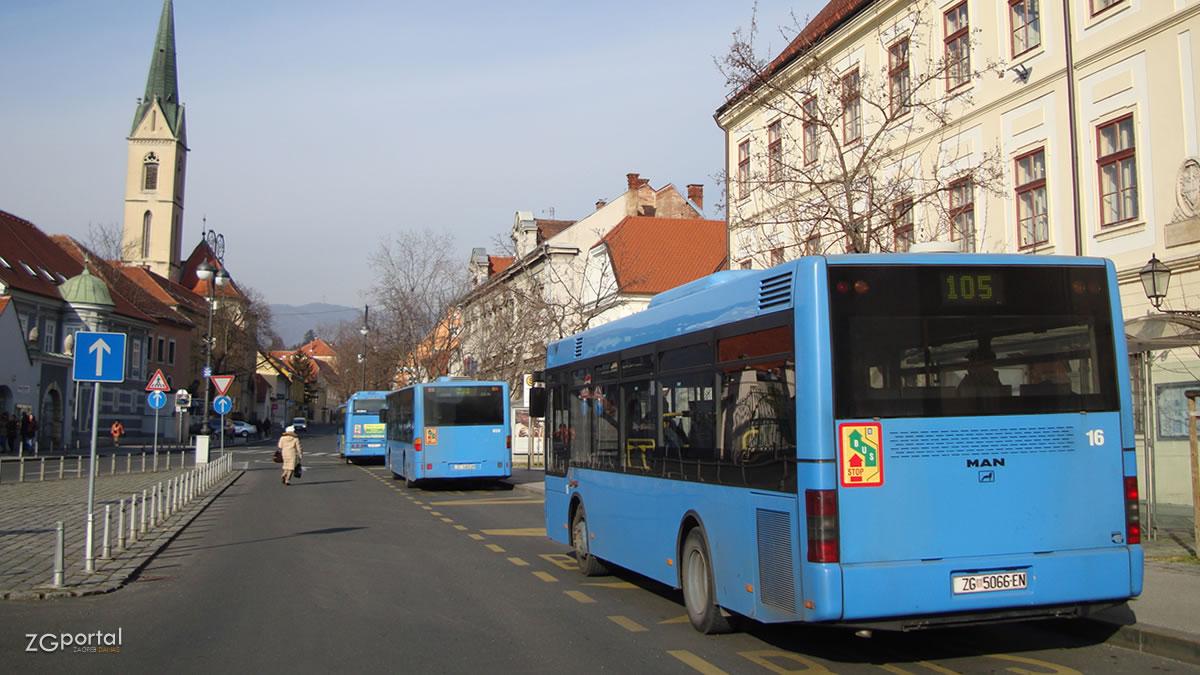 autobusni terminal kaptol, zagreb