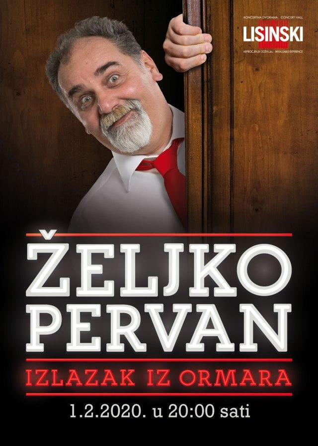 Izlazak iz ormara - Željko Pervan - KD Lisinski