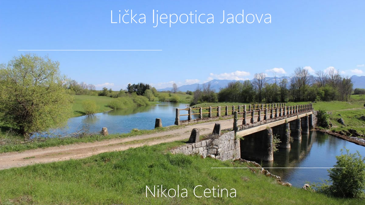"izložba fotografija ""lička ljepotica jadova "" / nikola cetina 2019"