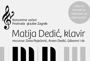 matija dedić / festival glazbe / ckim 2019