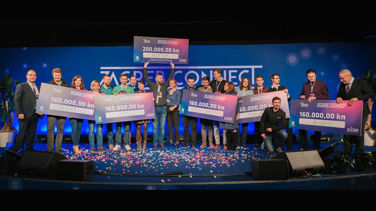 """pobjednici tehnološke konferencije """"zagreb connect 2019"""""""