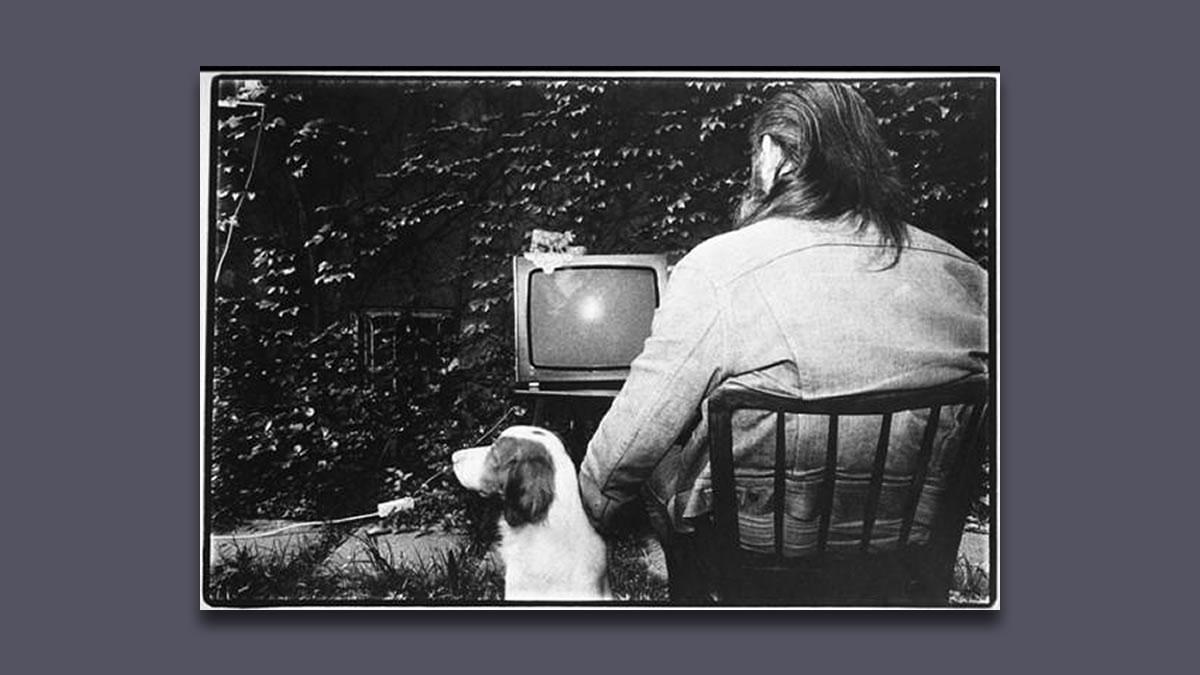 tomislav gotovac / performans gledanje televizije / zagreb 1980