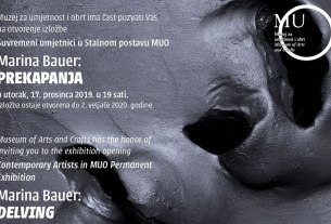 "izložba ""prekapanja"" / marina bauer / muo zagreb 2019"