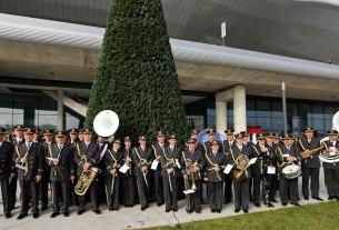 simfonijski puhački orkestar hrvatske vojske / zračna luka zagreb 2019