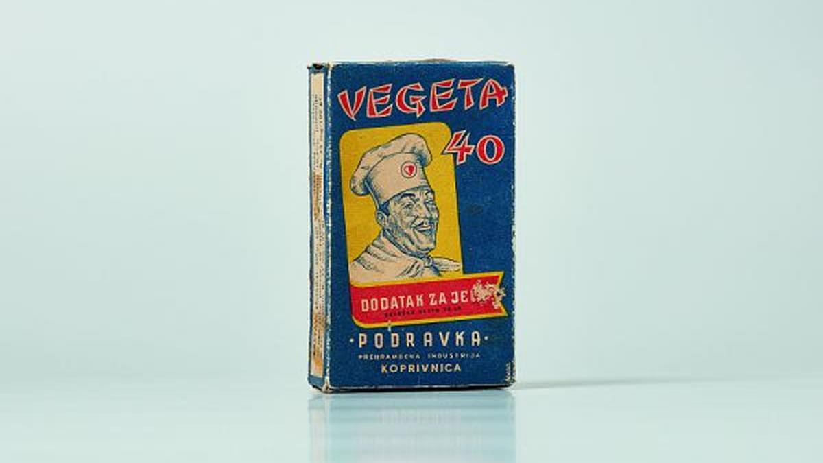 vegeta 40 dodatak jelima / kartonska kutijica, dušan mrvoš, 1959.