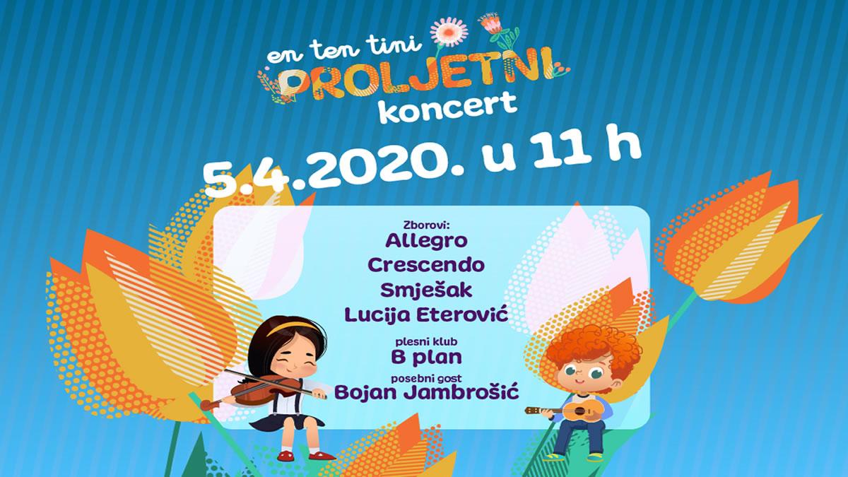 en ten tini - proljetni koncert - lisinski 2020