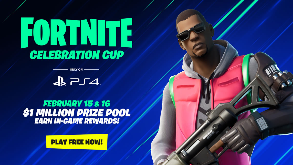 fortnite celebration cup / ps4 / 2020