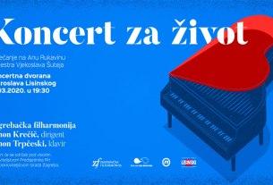 koncert za život - kd lisinski - 2020