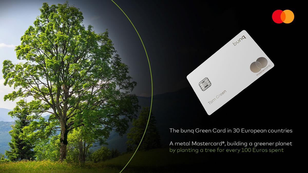 mastercard bunq green card 2020