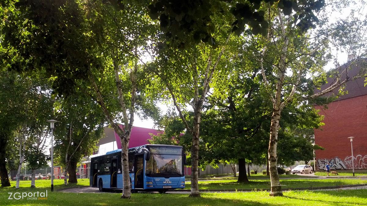 zet bus 113 - okretište jarun zagreb - lipanj 2014.