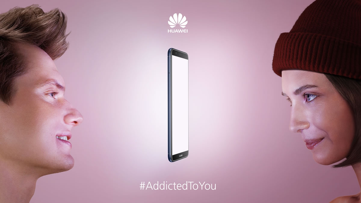 Huawei #AddictedToYou kampanja 2018