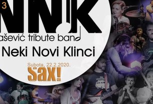 neki novi klinci - balašević tribute band - koncert - klub sax - 2020