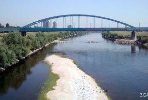 rijeka sava zagreb - željeznicki hendrixov most - kolovoz 2013.