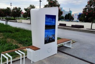 infosmile outy - info display - 2020