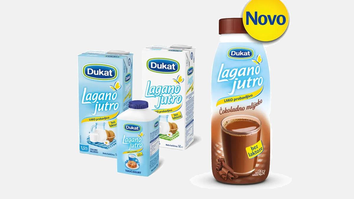 dukat lagano jutro - čokoladno mlijeko bez laktoze - 2020