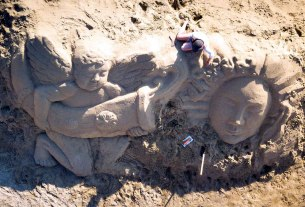 festival skulptura u pijesku - lopar rab 2020