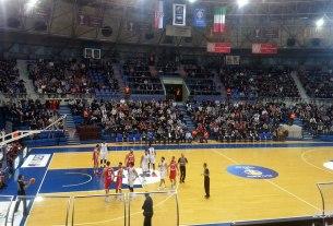 košarkaški centar dražen petrović zagreb - studeni 2017.