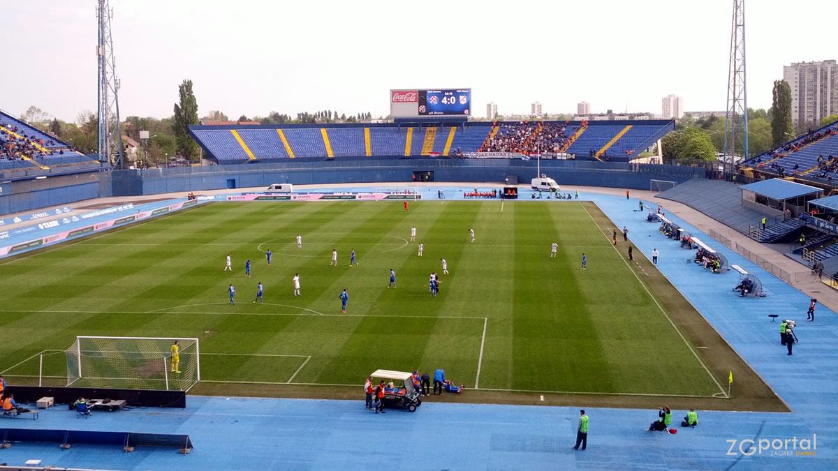 stadion maksimir zagreb / travanj 2014.