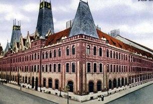 erno foerk i gyula sandy - palača ravnateljstva pošte i telegrafa - zagreb 1902 - 1904