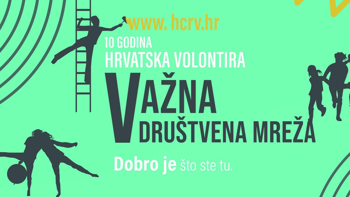 kampanja hrvatska volontira 2020 - važna društvena mreža