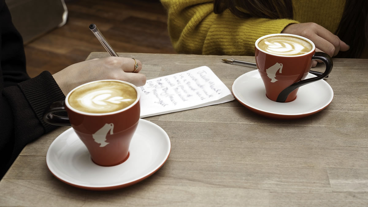world coffee day - julius meinl - poetry for change / 2020.