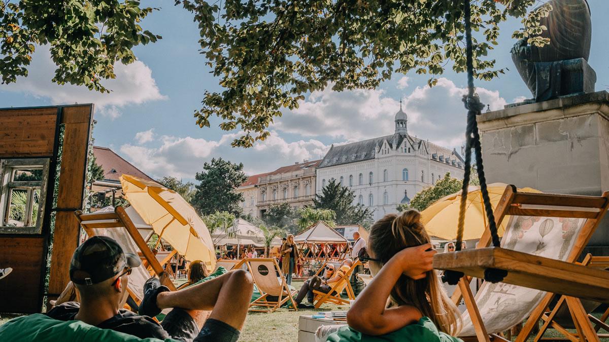 zagreb burger festival 2020 - strossmayerov trg zagreb
