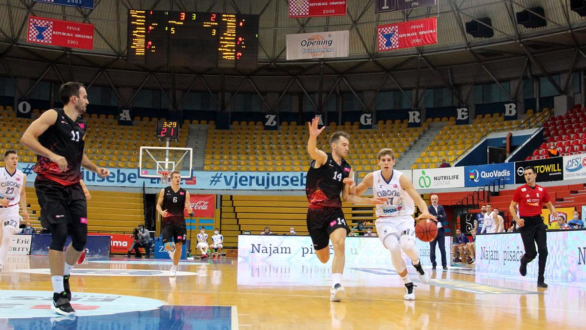 košarka cibona - gorica - draženov dom - listopad 2020.