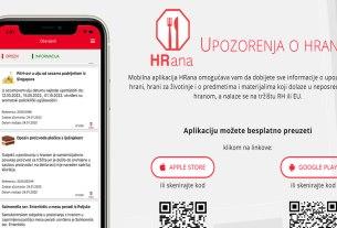 """mobilna aplikacija """"HRana"""" 2020"""