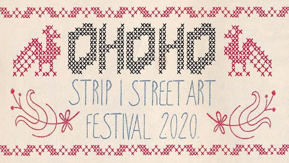 ohoho strip i street art festival - medika zagreb - 2020
