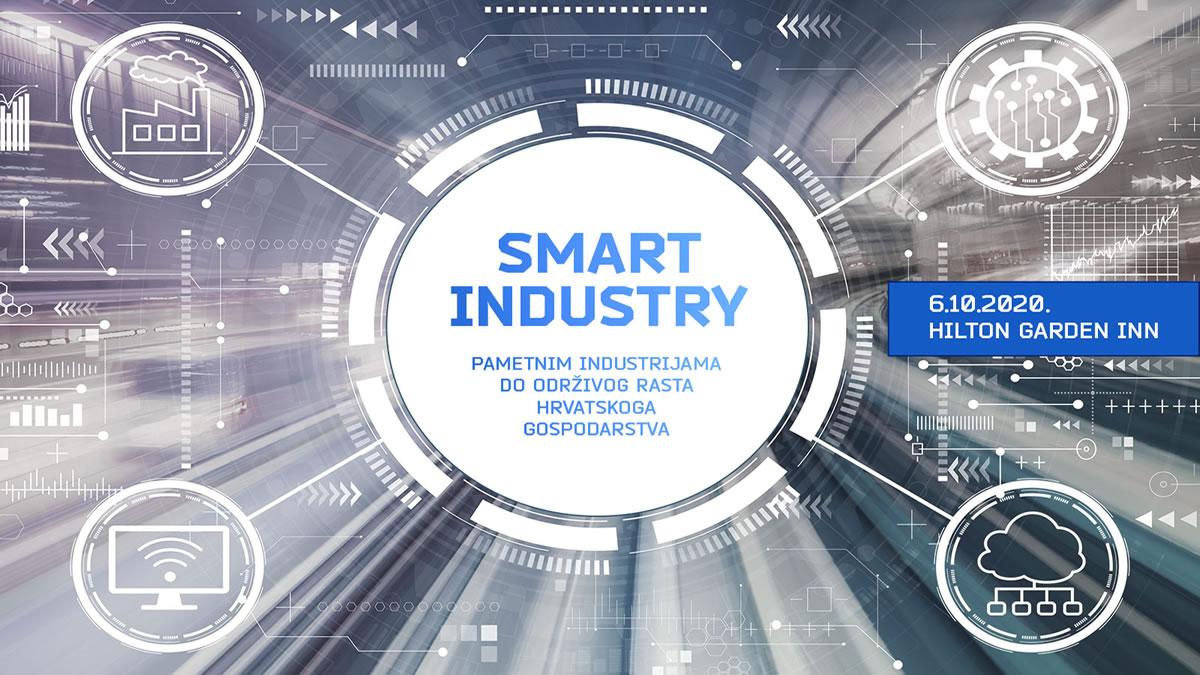 """poslovna konferencija """"smart industry: pametnim industrijama do održivog rasta hrvatskog gospodarstva"""" - zagreb 2020"""
