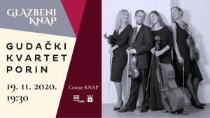 gudački kvartet porin - glazbeni knap - 2020