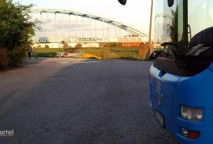 hendrixov most - terminal savski most zagreb - travanj 2012.