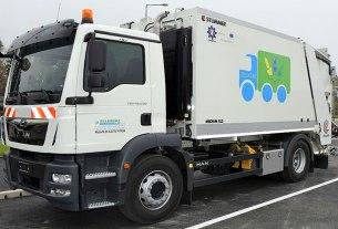kamion za prikupljanje otpada - zelinske komunalije - 2020