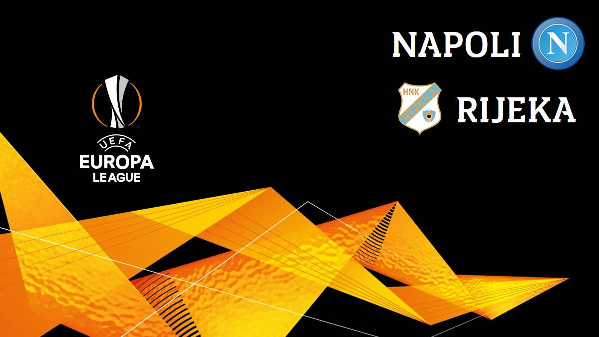 napoli-rijeka - uefa european league 2020