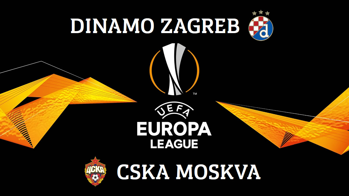 uefa europa league - dinamo zagreb - cska moscow - 2020