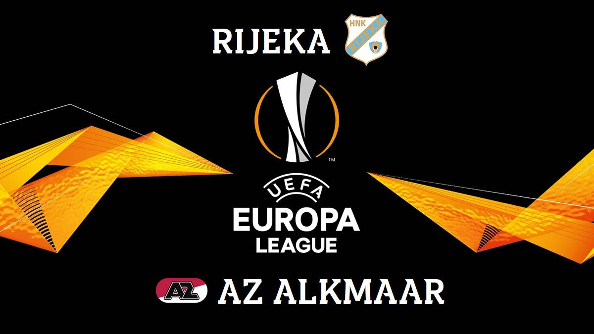 uefa europa league - rijeka - az alkmaar - 2020