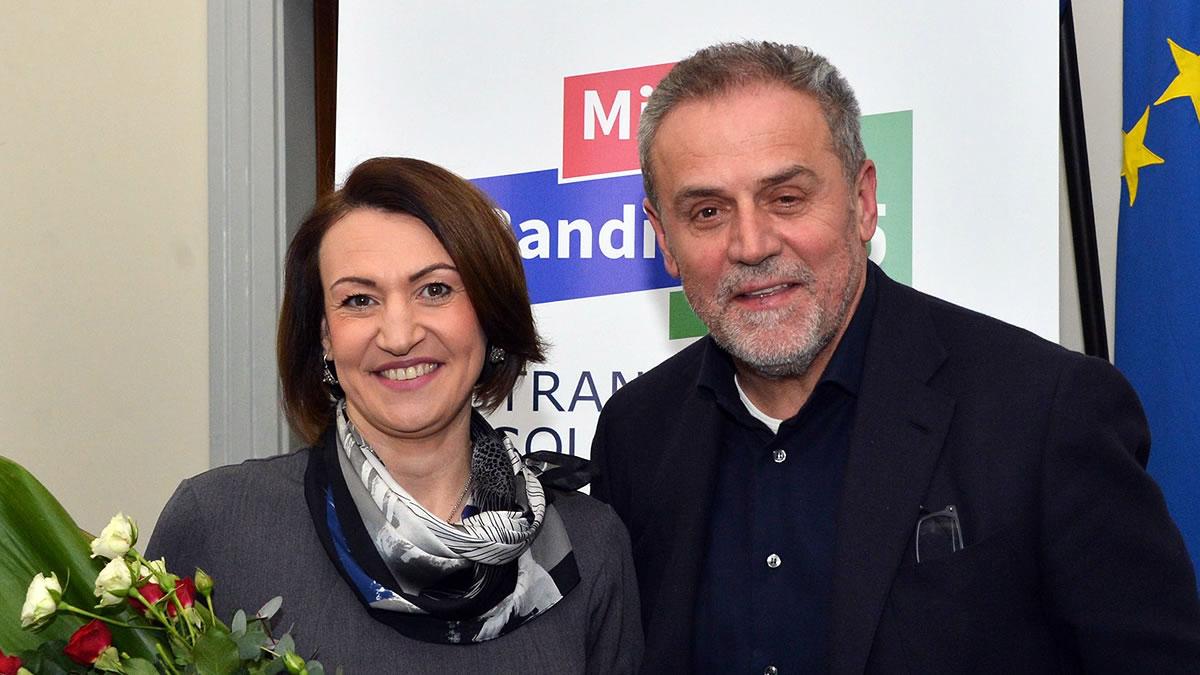 jelena pavičić vukičević i milan bandić - stranka rada i solidarnosti - 2020.