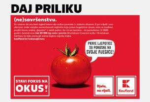 """kaufland - kampanja """"stavi fokus na okus"""" / 2021."""