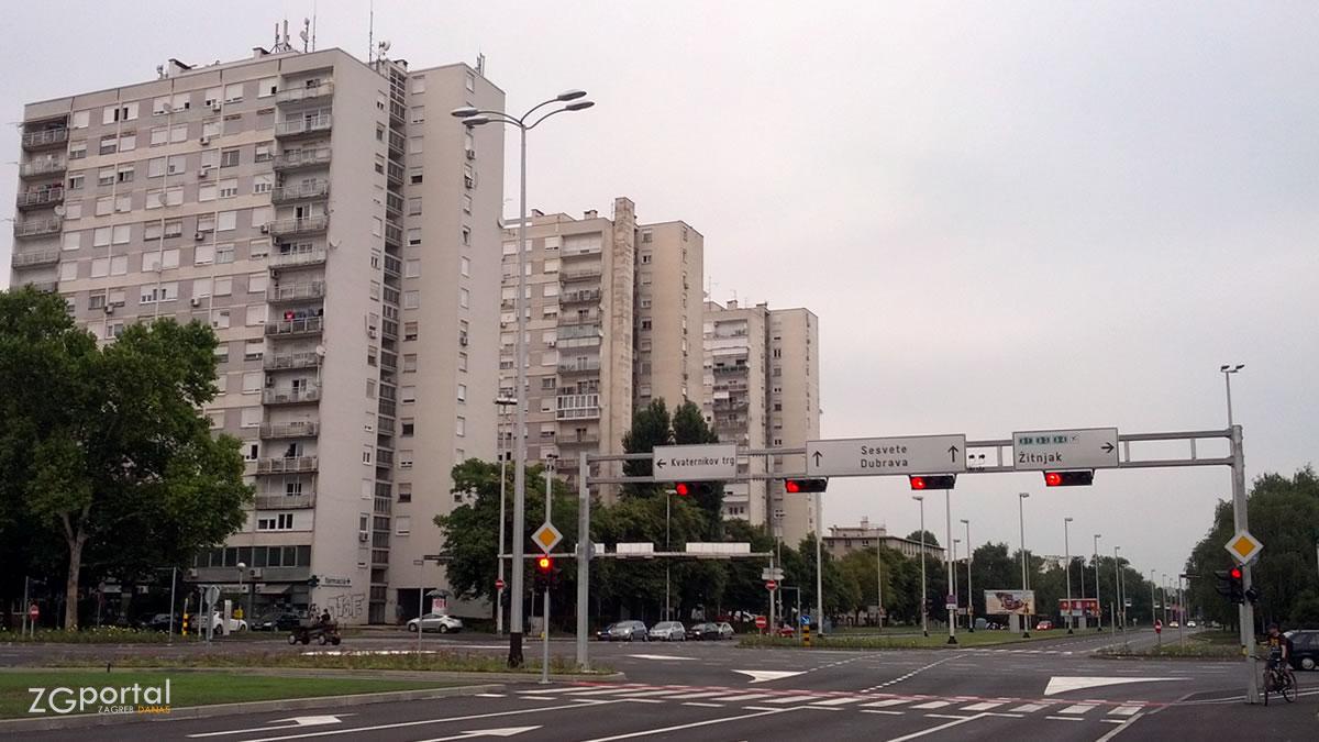 ulica kneza branimira - heinzelova ulica, zagreb / srpanj 2016.