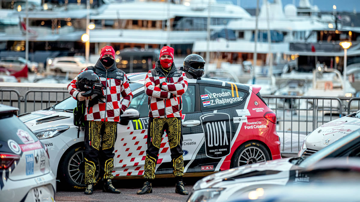 viliam prodan i zoran raštegorac - wrc rally monte carlo 2021