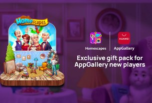 homescapes - playrix / huawei appgallery 2021.