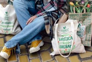 jedina platnena vrećica koju trebam - tvornica zdrave hrane zagreb - 2021.